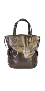 Botkier Bronze Metallic Leather Handbag Hobo Bag