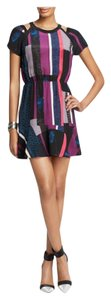 Twelfth St. by Cynthia Vincent short dress Multi Boho Bohemian Print Color-blocking Bloomingdales on Tradesy