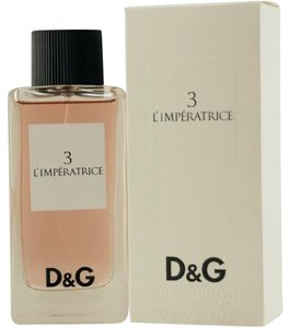Dolce&Gabbana D&G (3) L'IMPERATRICE EDT Spray 3.3oz/3.4oz/100ml Woman,New,