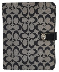 Coach Coach Signature Turnlock iPad Tablet Case