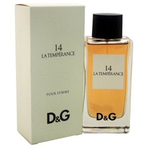Dolce&Gabbana D&G (14) LA TEMPERANCE EDT Spray 3.3oz/3.4oz/100ml for Woman,New.