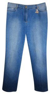 Escada Relaxed Fit Jeans-Medium Wash