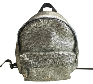 Coach Leather Trend Backpack