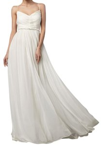 Robert Rodriguez Romantic Embellished Silk Gown Black Label Dress