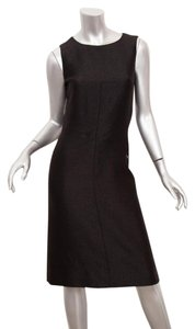 Chanel short dress Black Sheen Shift Vintage on Tradesy