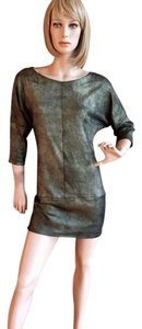 Stouls Leather Shimmer Dress