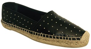 Saint Laurent #ysl416849aj440 #saintlaurent #espadrilleysl #espadrillestuds #studs Black Flats