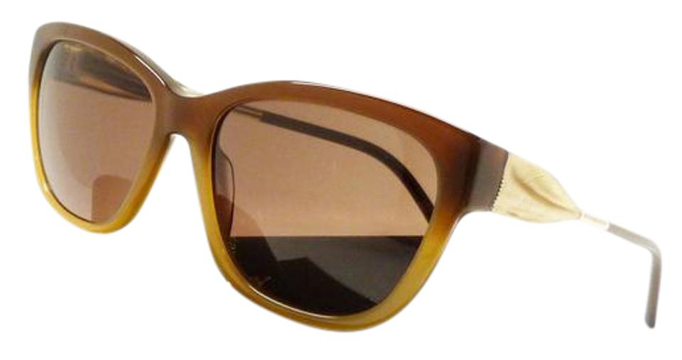316822cc7811 Burberry BURBERRY 4203 3369/73 Stylish Women Sunglasses Brown Gold/Brown  ITALY Image 0 ...