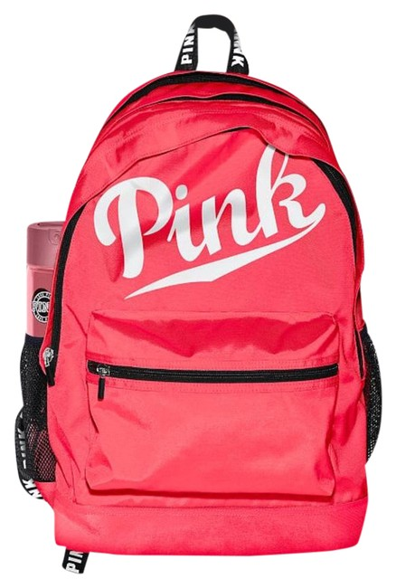 Item - 1 Neon Red Imported Polyester Backpack