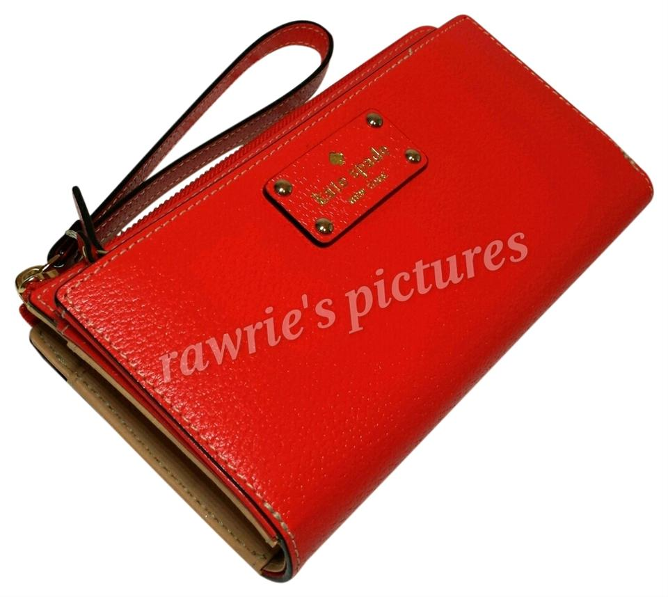 Kate Spade Red Wallet 34% Off