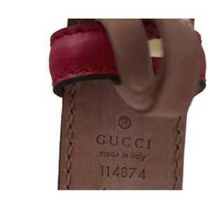 Gucci Leather GG guccissima women belt. Size 38 (95)