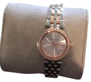 Michael Kors New Michael Kors Watch Ladies MK3298 Petite Darci Two-Tone Stainless Watch