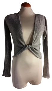 Velvet by Graham & Spencer Wrap Twist Cardigan Cashmere Sweater