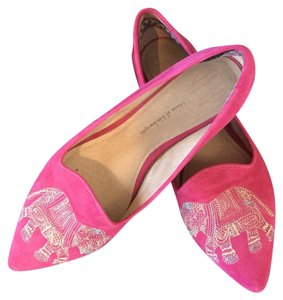 House of Harlow 1960 pink Flats