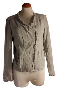 BB Dakota Spring Lightweight Asymmetrical Linen Jacket