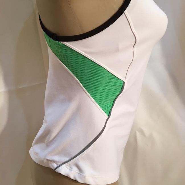 Nike White Sport Activewear Top Size 6 (S, 28) Nike White Sport Activewear Top Size 6 (S, 28) Image 3