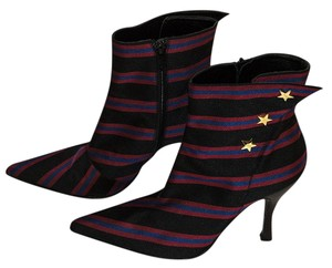 Hollywould black / red / blue Boots