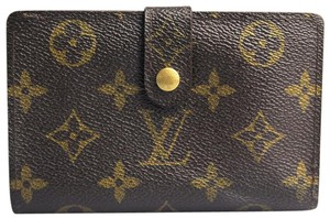 Louis Vuitton French Purse Kisslock Bifold Wallet
