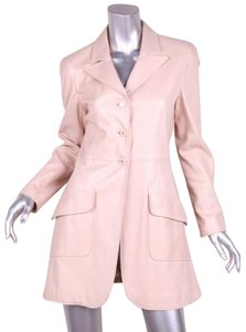 Chanel Lambskin Leather 97p Trench Coat