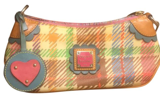 Item - Mini Top Zip Multicolor Leather Shoulder Bag