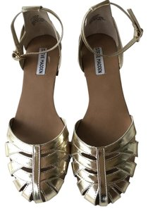 Steve Madden gold metallic Sandals
