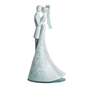 Language Of Love First Dance 9 Inch Cake Topper Elegant Wedding Keep