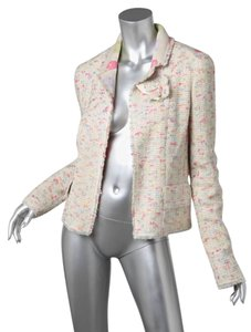Chanel Pastel 04a Cream MULTICOLOR Blazer