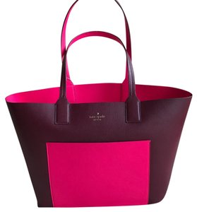 Kate Spade Tote in Pink Red