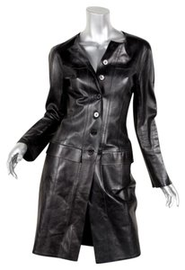 Chanel Lambskin Leather 99a Trench Coat