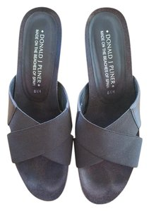 Donald J. Pliner Espresso Brown Sandals