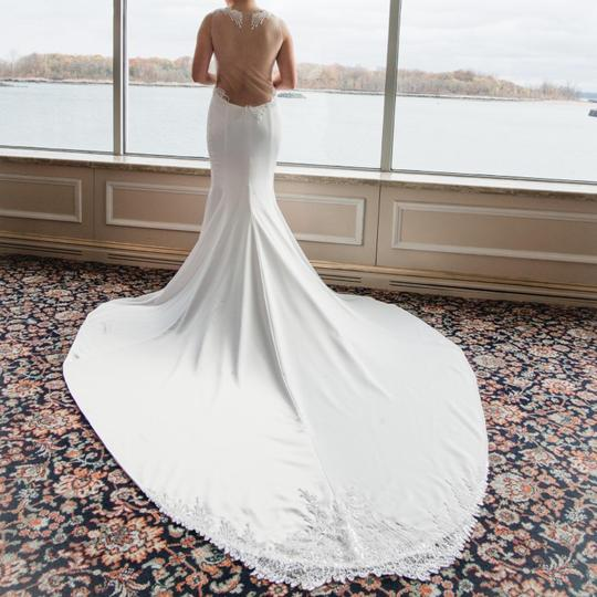 Pnina Tornai Offwhite 2017 Love Collection Sexy Wedding Dress Size 4 (S) Image 4