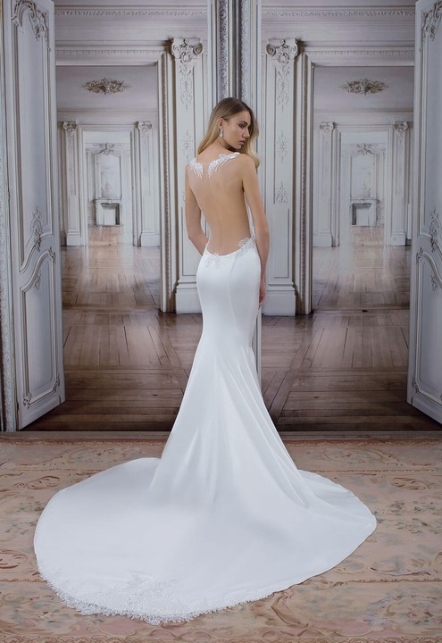 Super Pnina Tornai Offwhite 2017 Love Collection Sexy Wedding Dress Size  IK56