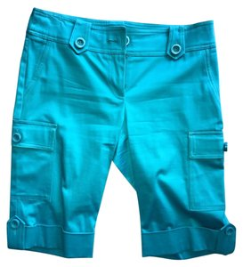 Cache Cuffed Shorts Turquoise