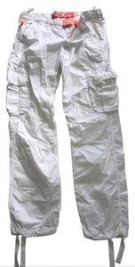 Super Dry Cargo Pants White
