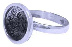 Other Rustic Sterling Silver & Patina Ring