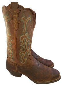 Justin Boots Justin Western Woman BROWN Boots