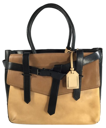 Reed Krakoff Tote in Natural and Black
