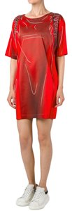 Moschino short dress Red Nwt T Shirt Backpack on Tradesy