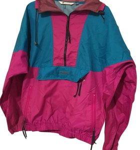 Colombia Sportswear Pink, Blue, Green NEON Jacket