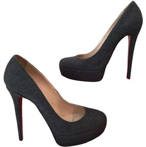 Christian Louboutin Dark Grey Platforms