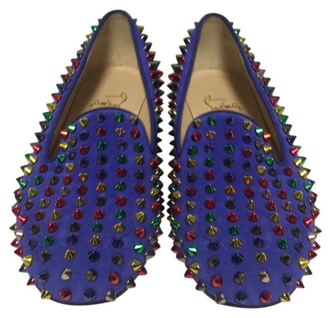 Item - Purple Spikes Flats Size US 7 Regular (M, B)