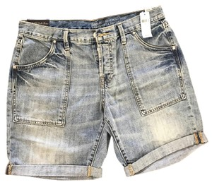 Gap Cuffed Shorts Denim