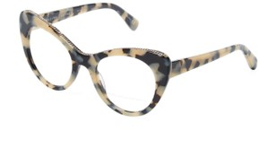 Stella McCartney Women's Cat Eye Tortoise Beige Optical Eye Glasses