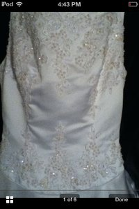 Jacquelin Exclusive Jacquelin Wedding Dress