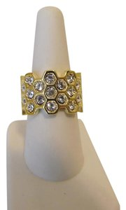 Real Collectibles by Adrienne Real Collectibles by Adrienne Honeycomb Band Ring 8