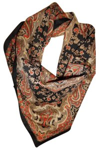 Other Paisley Fancy Square Lightweight Boho Neck Scarf