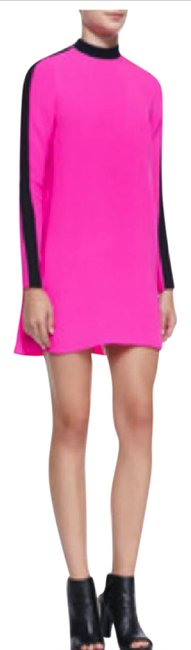 Item - Pink and Black Isley Colorblock Short Casual Dress Size 0 (XS)