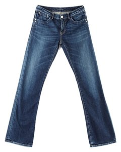 Elie Tahari Straight Leg Jeans-Medium Wash