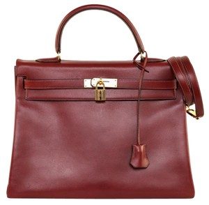 Hermès Satchel in Rouge H