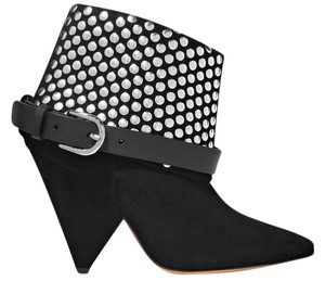 Other Studded Suede Black Boots